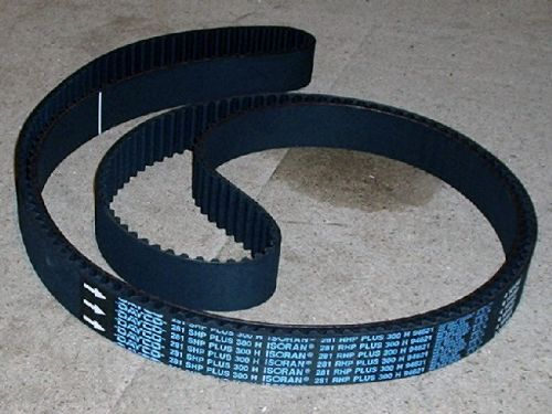 Timing belt, Subaru DOHC late models